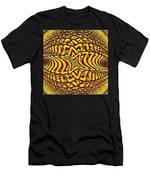 Honeycomb Men's T-Shirt (Athletic Fit)