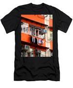 Hong Kong Apartment 12 Men's T-Shirt (Athletic Fit)