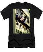 Hong Kong Apartment 8 Men's T-Shirt (Athletic Fit)