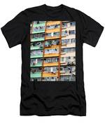 Hong Kong Apartment 9 Men's T-Shirt (Athletic Fit)