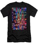 Hospital Construction Abstract #4 Men's T-Shirt (Athletic Fit)