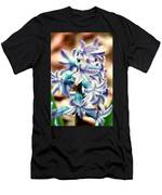 Hyacinth Photo Manipulation  Men's T-Shirt (Athletic Fit)