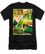 I Love Green Men's T-Shirt (Athletic Fit)