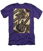 Icons Of Vintage Music Men's T-Shirt (Athletic Fit)