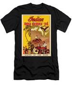 Indian Motorcycle Big Chief 74 Men's T-Shirt (Athletic Fit)