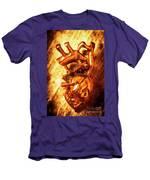 Iron Arteries  Men's T-Shirt (Athletic Fit)