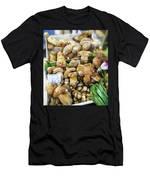 Italian Market Porcini Mushrooms  Men's T-Shirt (Athletic Fit)