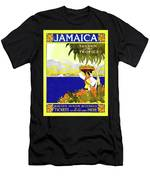 Jamaica, The Gem Of Tropics Men's T-Shirt (Athletic Fit)