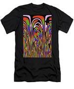Jancart Drawing Abstract #8455wspc Men's T-Shirt (Athletic Fit)