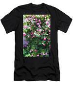 Jane's Rose Bush Men's T-Shirt (Athletic Fit)