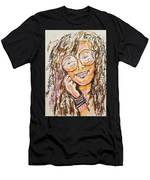 Janis Joplin Men's T-Shirt (Athletic Fit)
