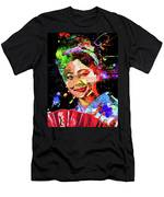 Japanese Geisha Colored Men's T-Shirt (Athletic Fit)
