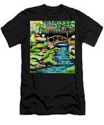 Japanese Tea Gardens Men's T-Shirt (Athletic Fit)
