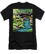 Japanese Tea Gardens Men's T-Shirt (Athletic Fit)