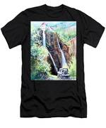 Jeeping At Bridal Falls  Men's T-Shirt (Athletic Fit)