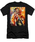 Jimi Hendrix  Men's T-Shirt (Athletic Fit)