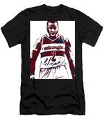 John Wall Washington Wizards Pixel Art 5 Men's T-Shirt (Athletic Fit)