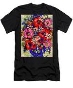Joyful Flowers Men's T-Shirt (Athletic Fit)
