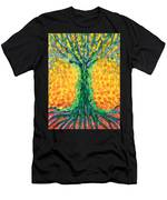 Joyful Tree Men's T-Shirt (Athletic Fit)