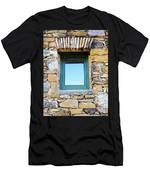 Just Another Historic Window Men's T-Shirt (Athletic Fit)