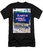 Justice Make It Happen Men's T-Shirt (Athletic Fit)