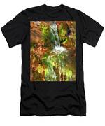 Waterfall Of Love Men's T-Shirt (Athletic Fit)