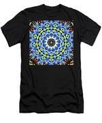 Kite Tiles Mandala Men's T-Shirt (Athletic Fit)