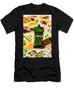 Kiwi Postage Scene Men's T-Shirt (Athletic Fit)