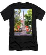 Knoxville Old Courthouse Grounds Men's T-Shirt (Athletic Fit)