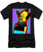 Krusty The Clown Found Dead Men's T-Shirt (Athletic Fit)