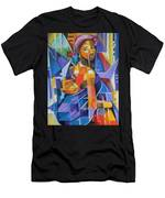 Pride Of African Woman Men's T-Shirt (Athletic Fit)
