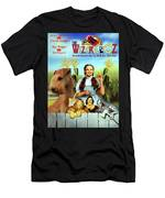 Lakeland Terrier Art Canvas Print - The Wizard Of Oz Movie Poster Men's T-Shirt (Athletic Fit)