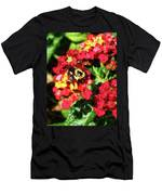 Lantanas And The Bee Men's T-Shirt (Athletic Fit)