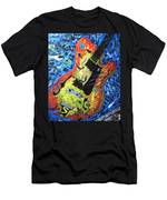 Larry Carlton Guitar Men's T-Shirt (Athletic Fit)