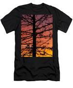 Late Autumn Sunset Men's T-Shirt (Athletic Fit)
