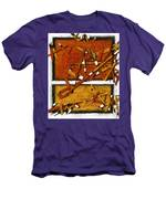 Later In The Morning Abstract Men's T-Shirt (Athletic Fit)