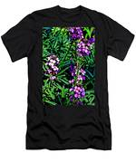 Verbena At Pilgrim Place In Claremont-california   Men's T-Shirt (Athletic Fit)