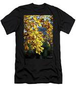 Leaves On Fire Men's T-Shirt (Athletic Fit)