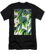 Leeks At The Farmer's Market Men's T-Shirt (Athletic Fit)
