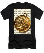 Libra Star Sign Men's T-Shirt (Athletic Fit)