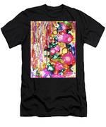 Lines And Bubbles Men's T-Shirt (Athletic Fit)