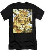 Lioness And Son Men's T-Shirt (Athletic Fit)
