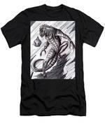 Lizard Warrior Men's T-Shirt (Athletic Fit)