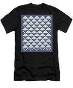 Log Cabin Blues Quilt Men's T-Shirt (Athletic Fit)