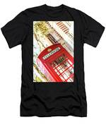 London Telephone 3 Men's T-Shirt (Athletic Fit)