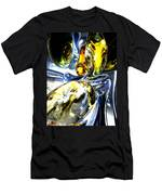 Lost In Space Abstract Men's T-Shirt (Athletic Fit)