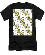 Love Connection - Valentines Men's T-Shirt (Athletic Fit)