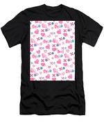 Love Hugs And Kisses Men's T-Shirt (Athletic Fit)