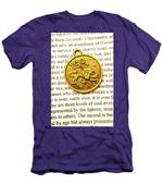 Lucky Leo Charms Men's T-Shirt (Athletic Fit)