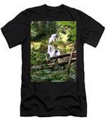 Lush Waterfall Men's T-Shirt (Athletic Fit)